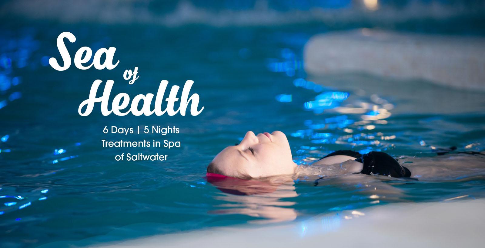 Tratamentos em Termas de Água Salgada